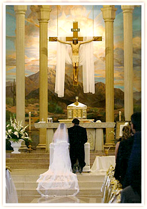what happens during the sacrament of marriage